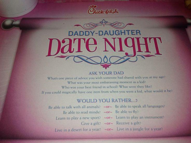 Daddy daughter date night in Brisbane