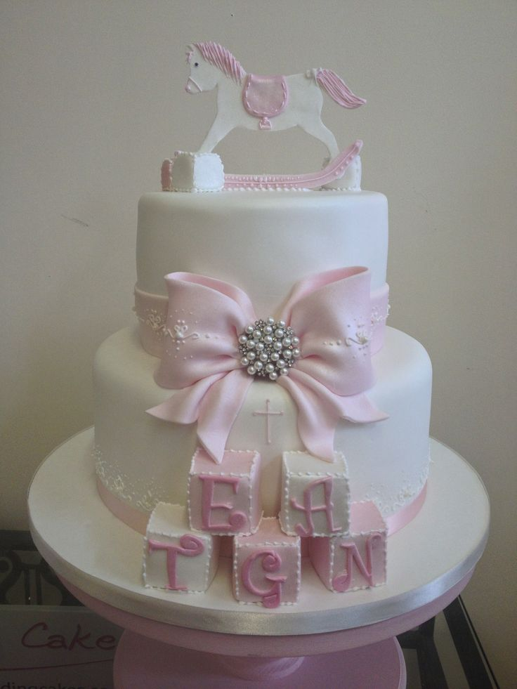 Best 25 Christening Cake Girls Ideas On Pinterest Baby