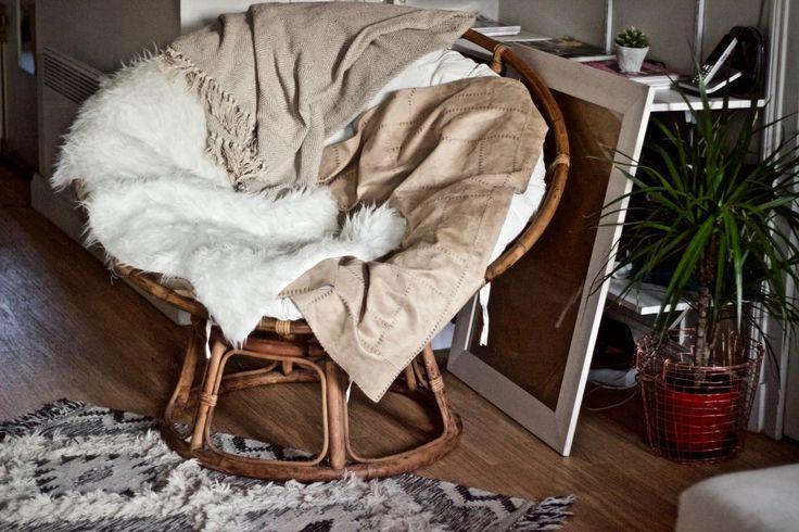loveuse fauteuil rond rotin casa descente lit peau de. Black Bedroom Furniture Sets. Home Design Ideas