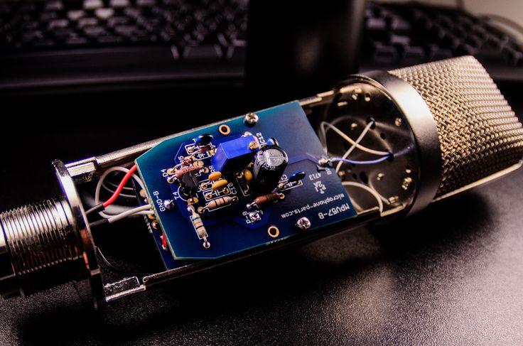 Electret Microphone Circuit Schematics Moreover Condenser Mic Wiring