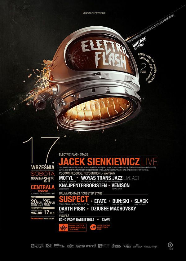 ELectric Flash: Vintage Edition on Behance