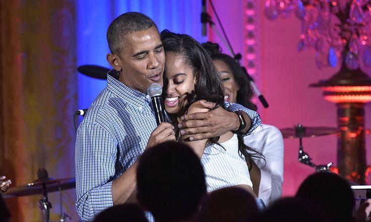 Barack Obama serenades daughter Malia on her 18th birthday