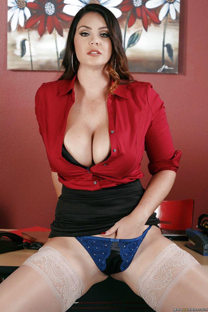 Secretaria Sexy Follando Con Panties En