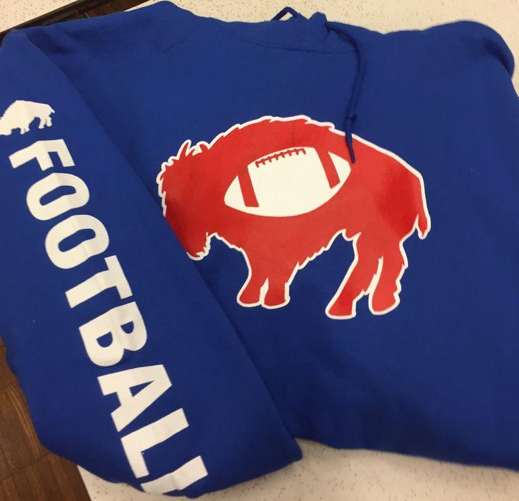 Buffalo Bills Football Hoodie by TowelsintheBuff on Etsy