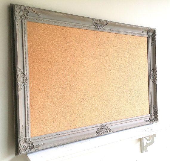 22 best Framed Cork Boards images on Pinterest | Magnet boards ...