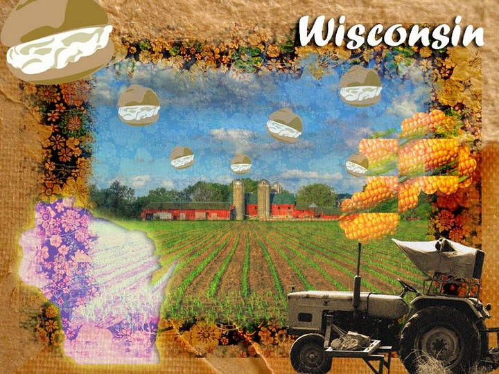 wisconsin postcard Wisconsin, Places ive been, Nature