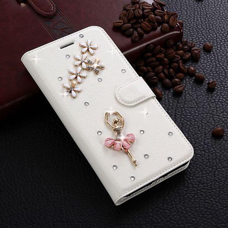 MUXMA For Xiaomi Redmi 5A Case Glitter Rhinestone Leather Cover 3D Crystal Flip Wallet Fundas Diamond. Click visit to buy #RhinestoneCase #rhinestone #case