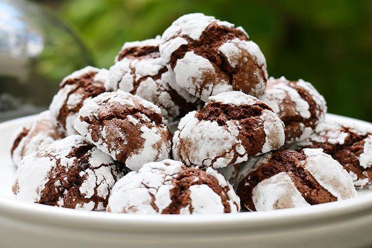 Recette de craquelés au chocolat au Thermomix TM31 ou TM5. Réalisez ce dessert…