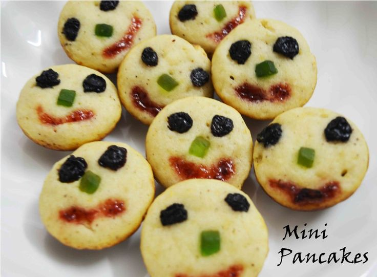 Baked Mini Pancake Recipe/ Egg less Mini Pancake A delicious breakfast for your loved ones #pancake #muffin #yummy #goodmorning #pancakemuffin #light_fluffy #baked #tiffin Recipe at: www.annapurnaz.in