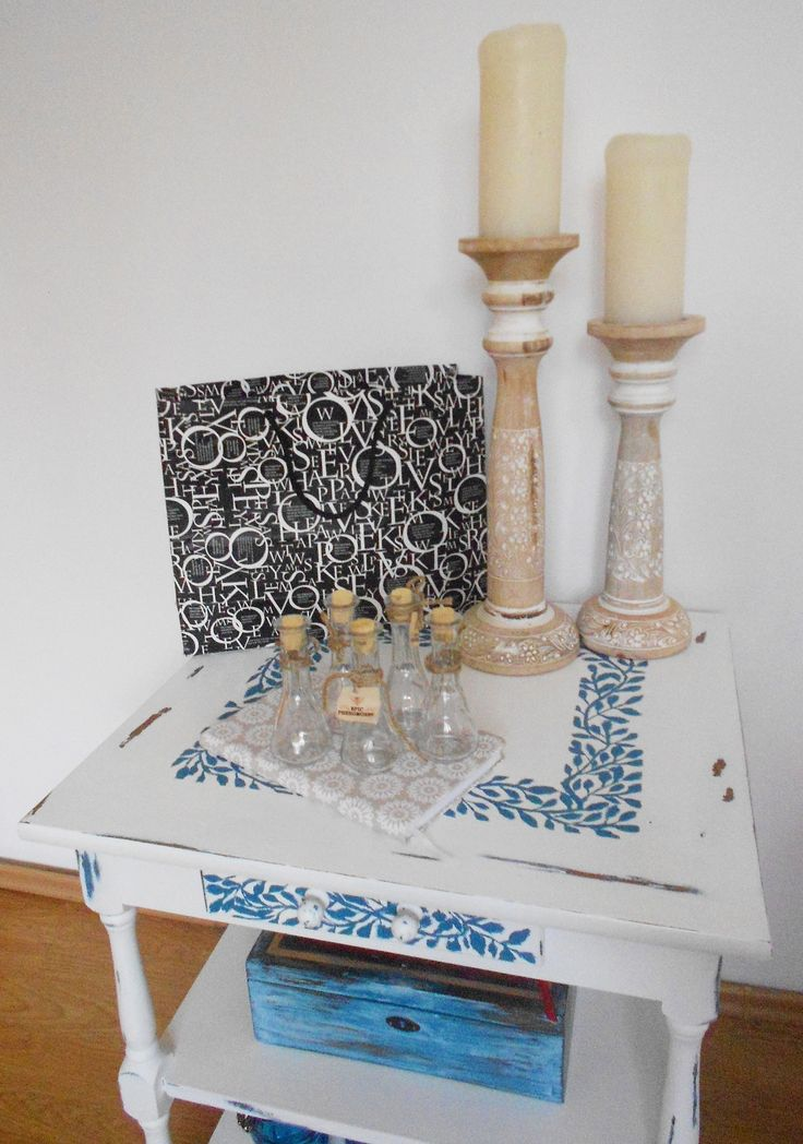 Shabby Chic End Table created by TONITZA Design