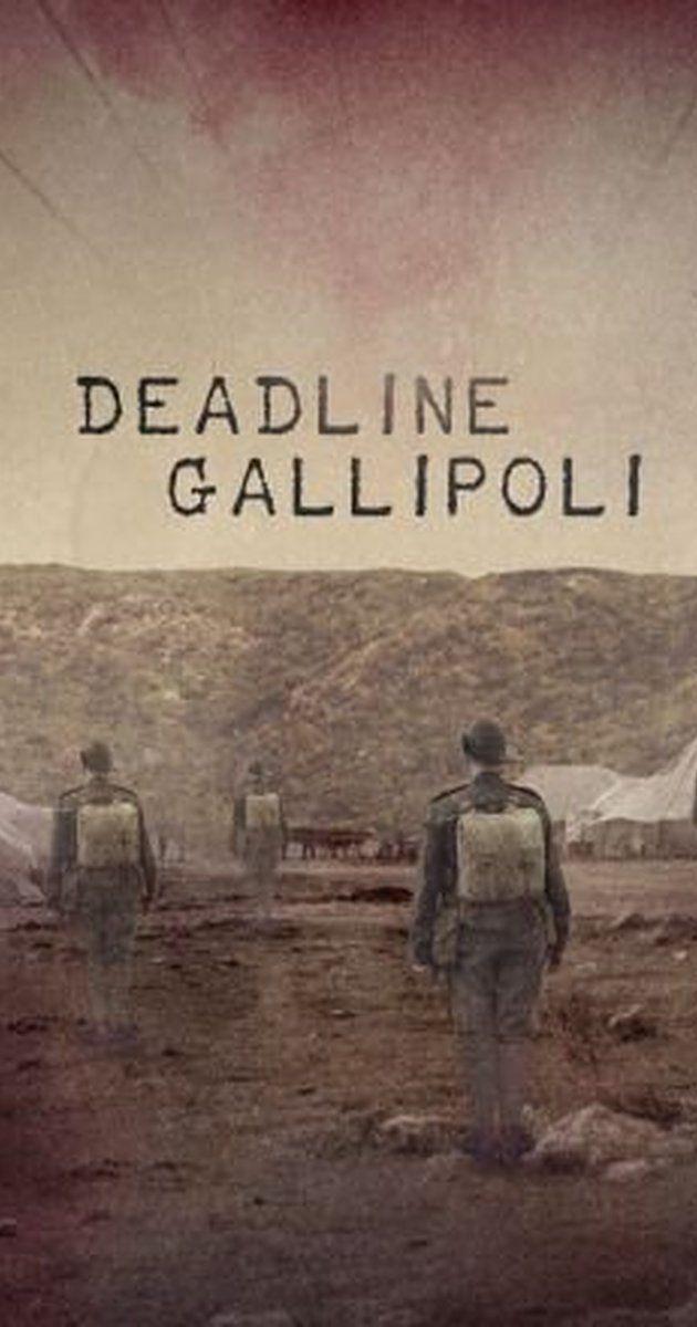 Deadline Gallipoli (TV Mini-Series 2015) - IMDb