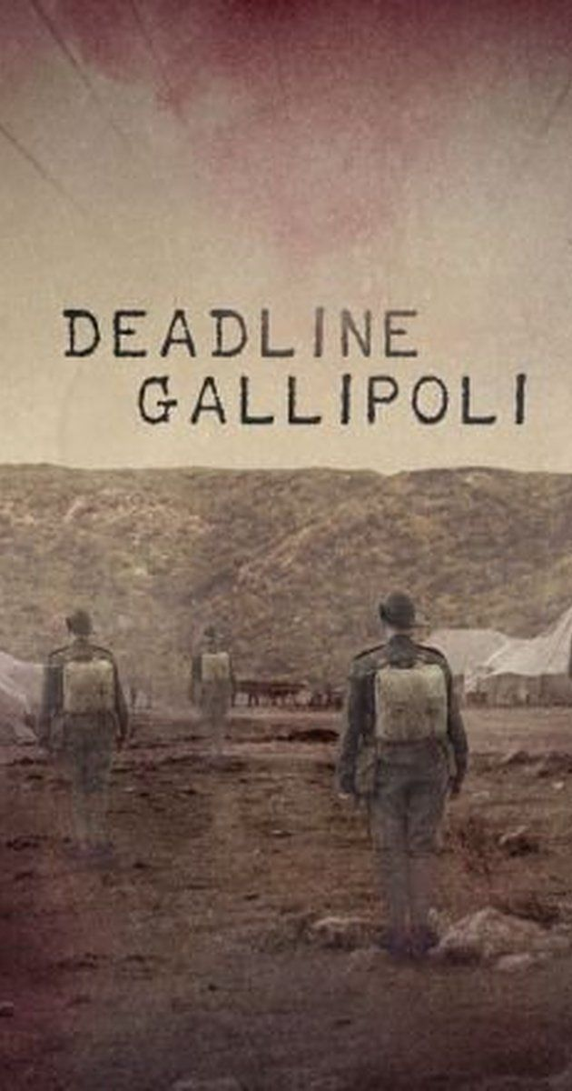 Deadline Gallipoli (TV Mini-Series 2015) - IMDb