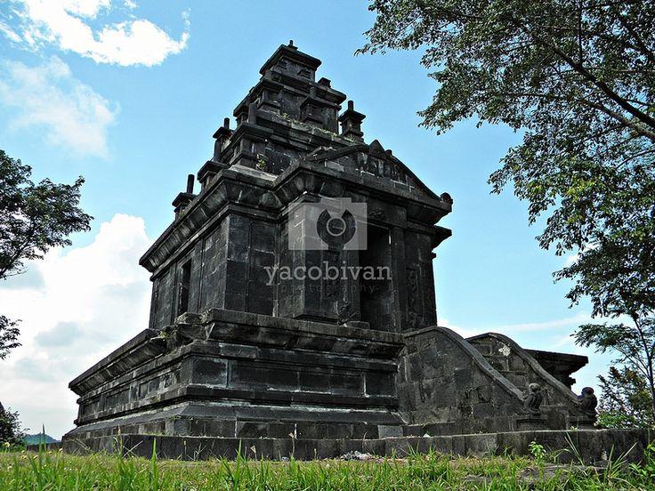 Tugu temple, Semarang. New temple from 20th century portraying Hindu temple.