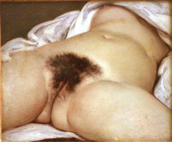 """1866...."""" LES ORIGINES DU MONDE """".....PAINTING OF GUSTAVE COURBET...........SOURCE NIKOSOLO.VOILA.NET........"""