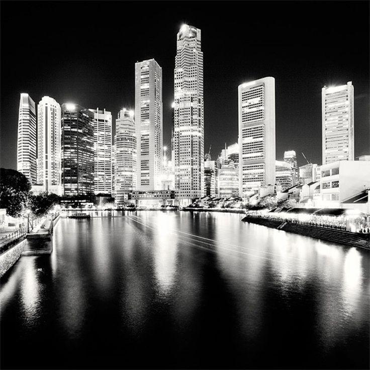 Картинки черно-белые с изображением городов