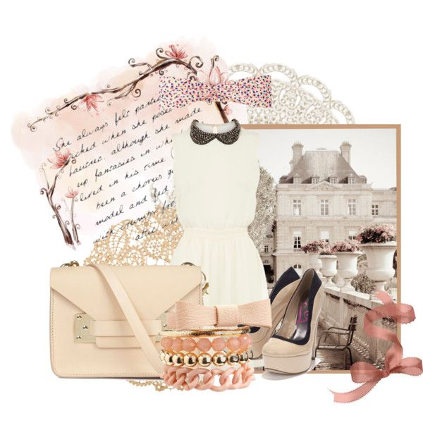 creamy vintageous by salsabilathamrin on Polyvore