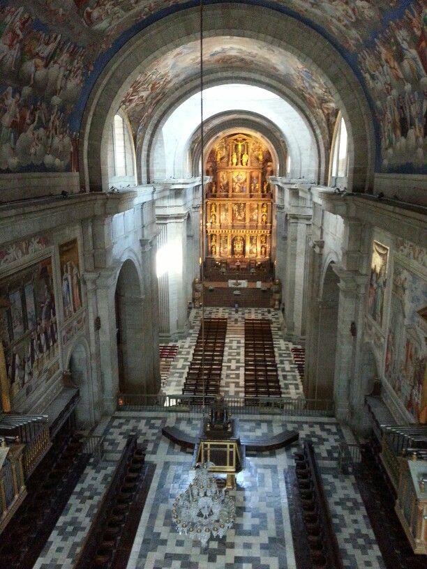 Basilica monasterio el Escorial Spain