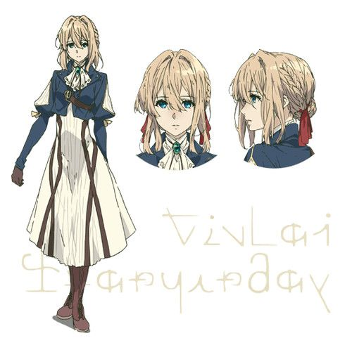Five Violet Evergarden Character Visuals Hit the Web by Mike Ferreira