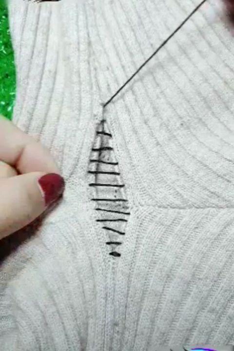 Wie können Sie Ihre Kleidung reparieren?   – Nähen
