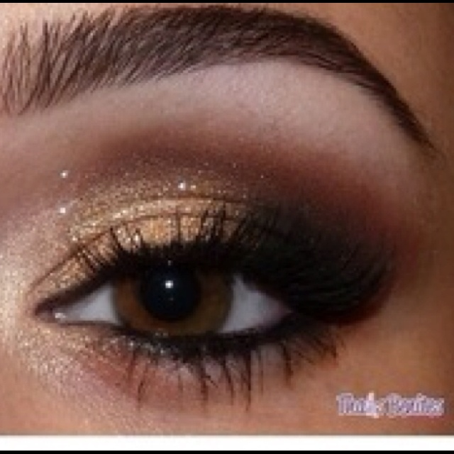Brown smokey eye | makeup and nails | Pinterest