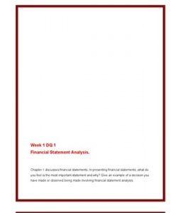"""ACC561   ACC 561 (VERSION 4)   Week 1 DQ 1  Financial Statement Analysis --> http://www.scribd.com/doc/141688601/ACC561-ACC-561-VERSION-4-Week-1-DQ-1-Financial-Statement-Analysis"""