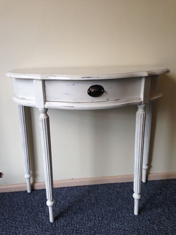 Pretty half moon table - this is what I'm looking for!!