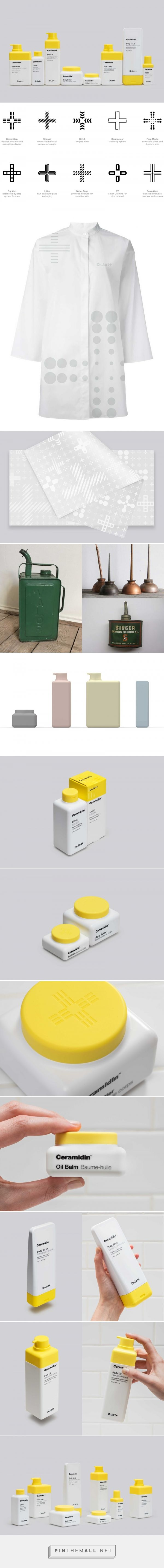 Dr. Jart+ packaging design by Pentagram - http://www.packagingoftheworld.com/2018/02/dr-jart.html