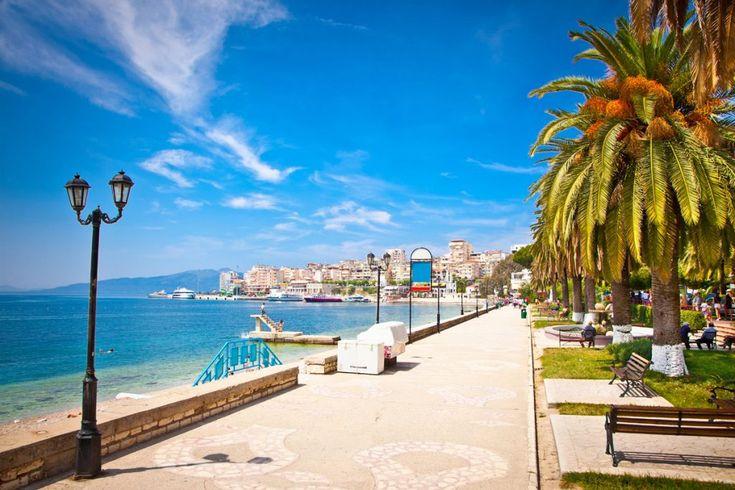 Saranda City - Sea side - Albania #Organizedtours #tours #dailytrips #excursions  #Albania #saranda