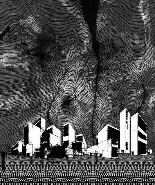 Stanley Donwood 'Cleftmall'