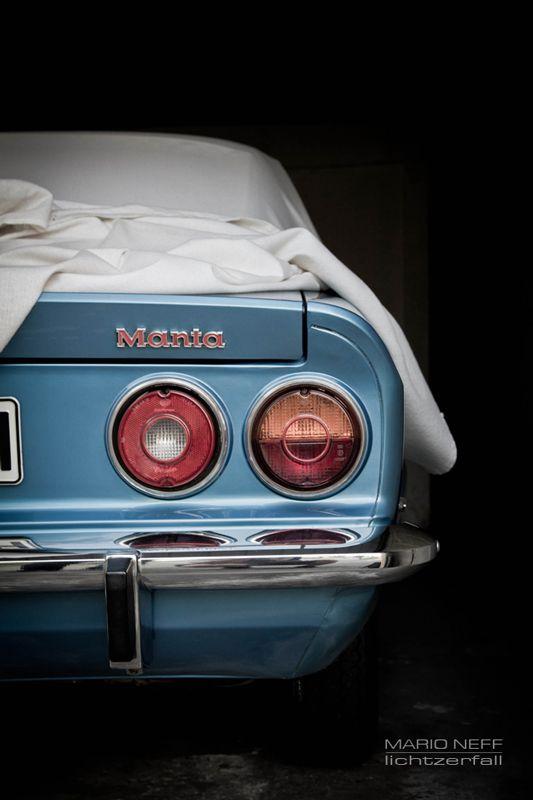 Opel Manta #car