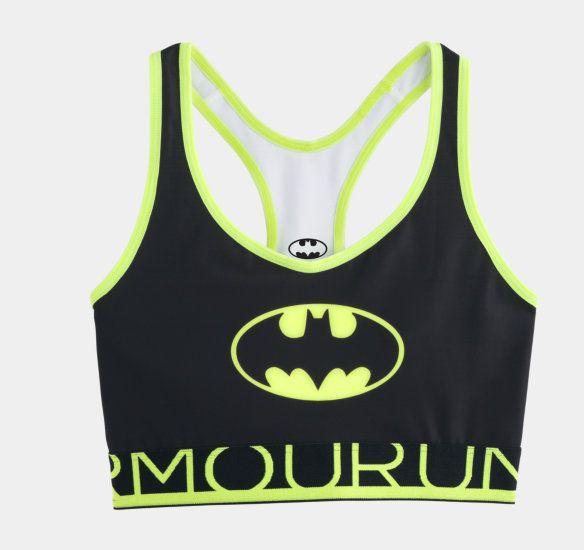 Women's Under Armour Batgirl Sports Bra