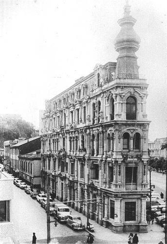 Edifició Brown (actual plaza Cívica), Valparaíso - 1969