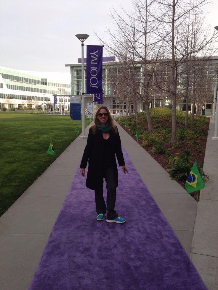 No Yahoo, me estenderam um tapete. Uau.