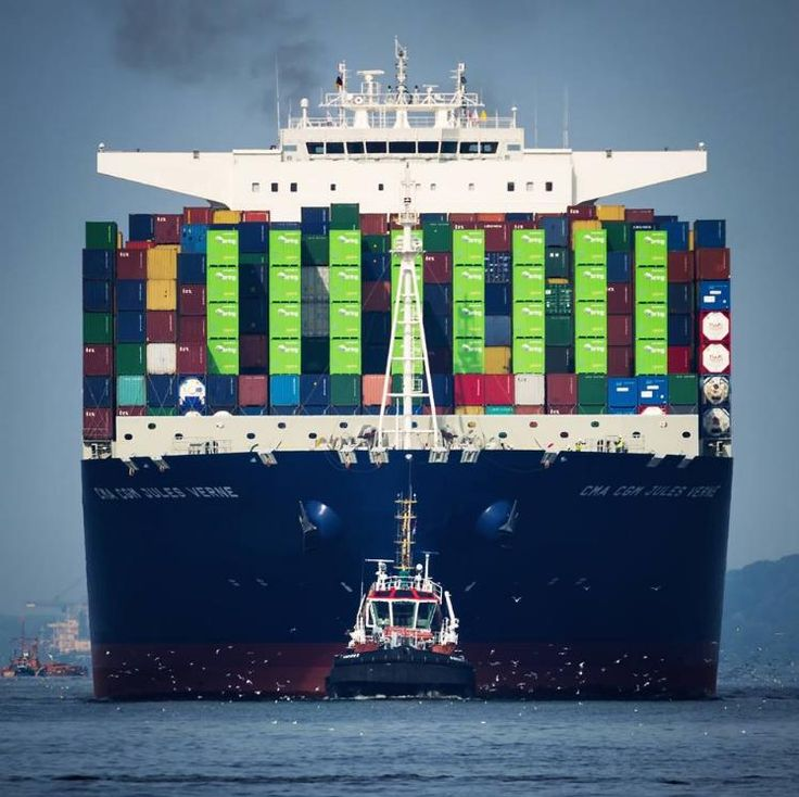 Global Logistics Media - CMA CGM - Amazing Container Ship Images
