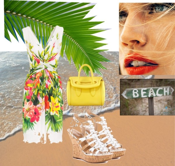 """The beach is coming to the city!"" by tomodel on Polyvore"