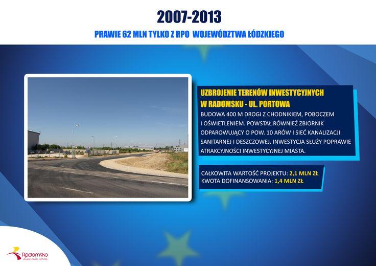 Uzbrojenie Strefy Inwestycyjnej - budowa ul. Portowej