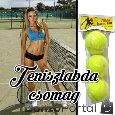 Teniszlabda - 3db egy csomagban