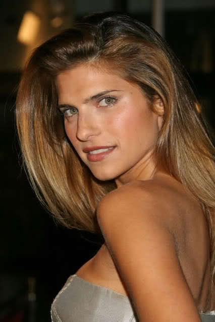 Lake Bell amazing colour hair