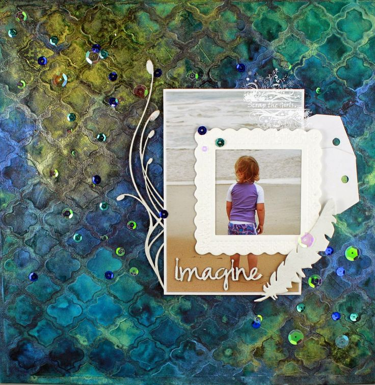 Just too Obsessed: Scrap the Girls - August Reveal
