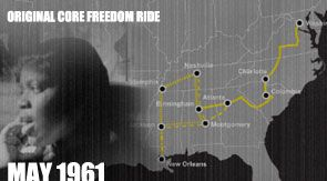 Freedom Riders. Watch the full documentary at PBS' site. The site also includes profiles of the freedom riders, a timeline, and articles on the issues behind the freedom rides.