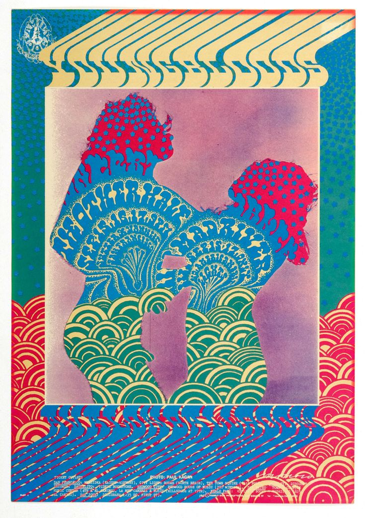 Family Dog 081 Mist Dance Poster YoungBloods The Other Half 1967 Sep 15