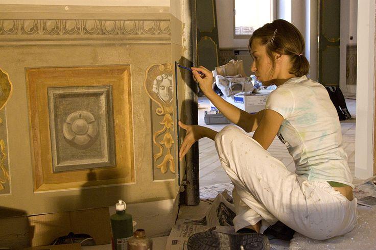 Edwina Garces - Conservazione Restauro Opere d'arte
