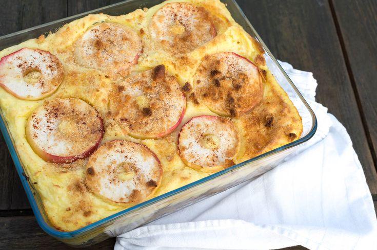 Recept voor een Hollandse oven zuurkoolschotel met gehakt, spekjes en appel. Een lekkere variant op de zuurkoolstamppot en heel makkelijk te maken!