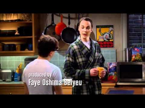 Teorie velkého třesku - Sheldonovo fanatické klepání