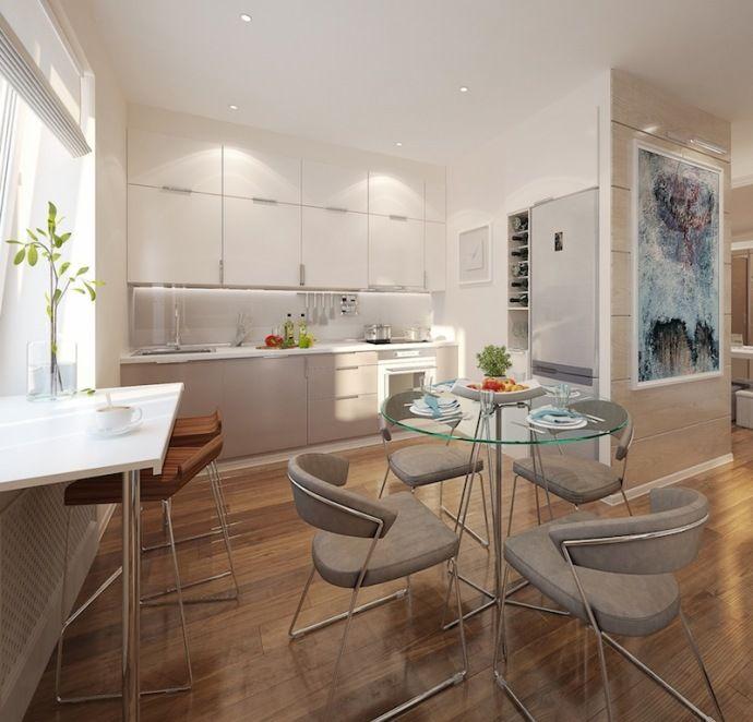 Дизайн маленькой кухни, студия Твой Дизайнер