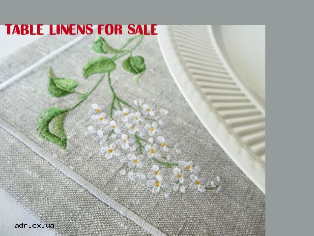 table linens for sale