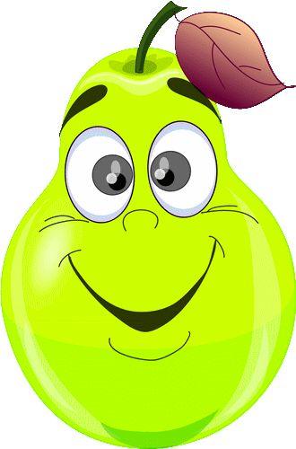 foto de AR poire vert heureux smiley émoticône clipart cartoon téléchargement gratuit et sans