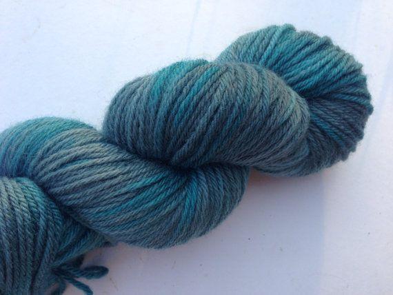 Blue Rocks (Eos- 100% BFL DK blues and greys
