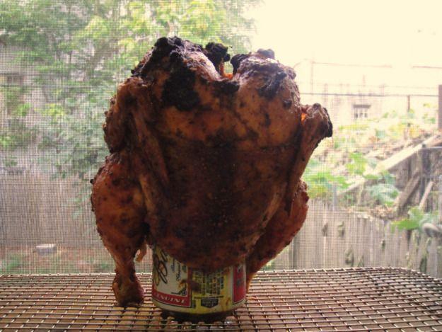 Uzbek Beer Can Chicken | Recipe | Columns, Beer can chicken and Beer