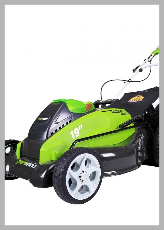 GreenWorks 25223 40V 19 Cordless Lawn Mower, Includes 2 Batteries and a Charger - Price History #Hardware #Greenworks  #Cordless #LawnMower
